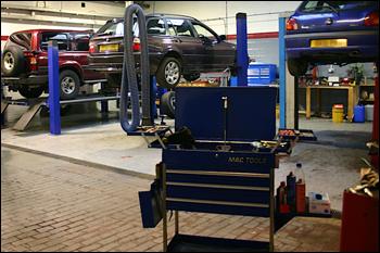 Good Tarvin Garage Repairs Workshop